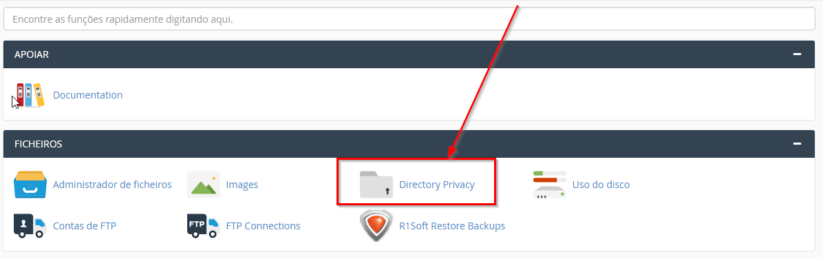 cpanel-directory_privacy